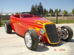 1933 Ford Hi-Boy Roadster Dazzler